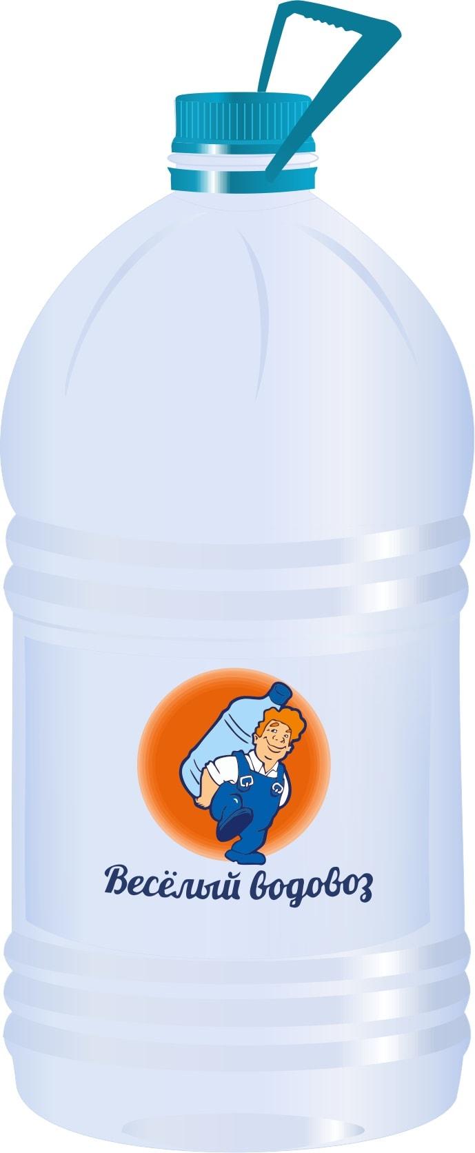 Вода первой категории качества Веселый водовоз, 5л