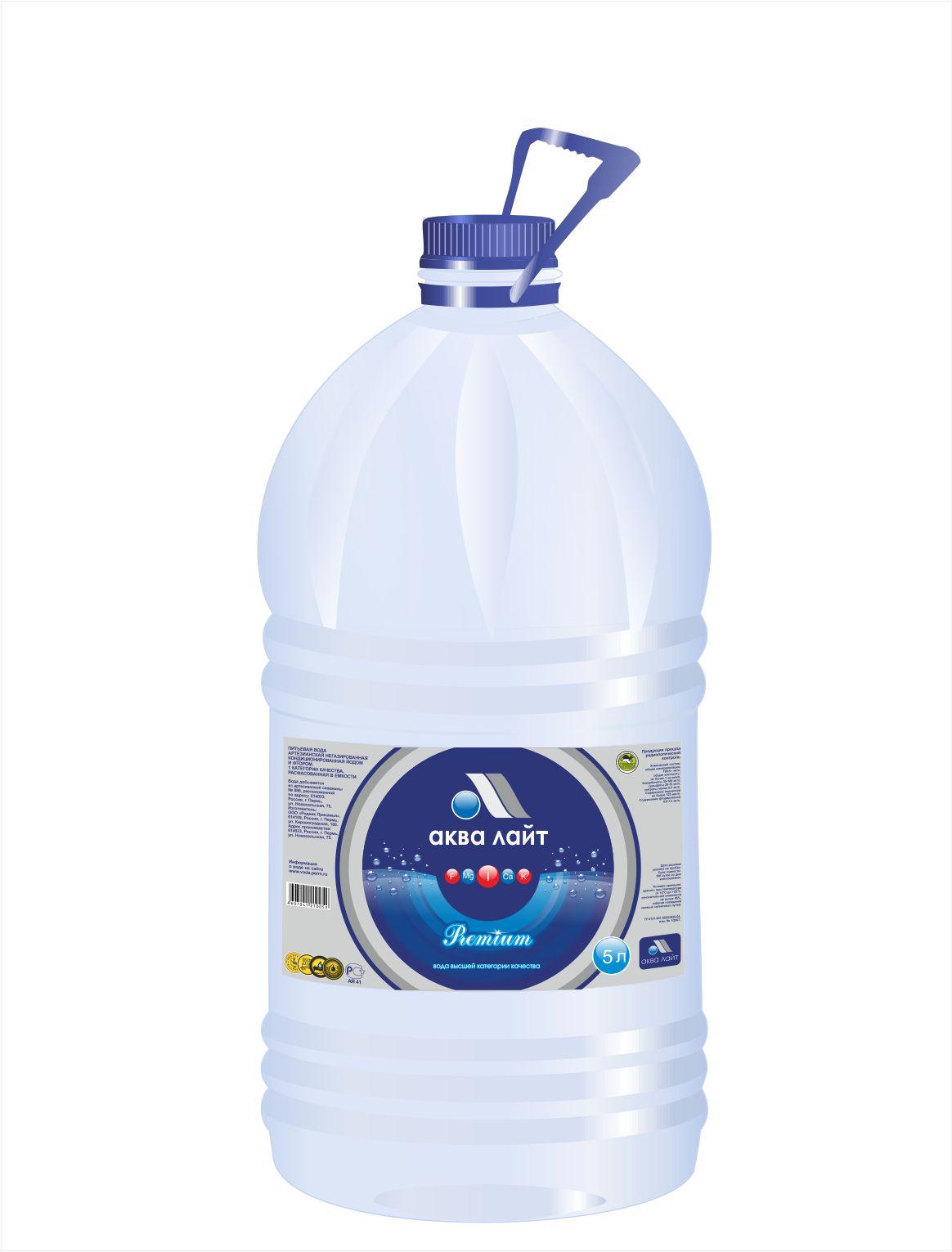 аква лайт премиум вода